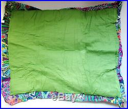 Anthropologie 2 DISTANT VOYAGES Quilt STANDARD STD Pillow SHAMS Outfitters NWT
