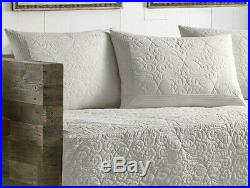 Daybed Cover Set Quilt Bedding Blanket Pillow Shams Sofa Couch Bed White Bed
