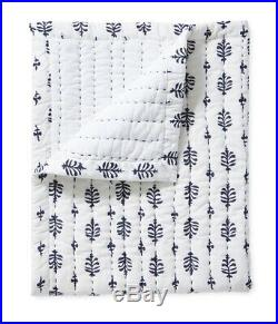 Serena And Lily Cambria Mini Quilt Navy Shams