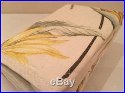 Tommy Bahama Birds of Paradise 5 PC Full / Queen Quilt Pillow Shams Set
